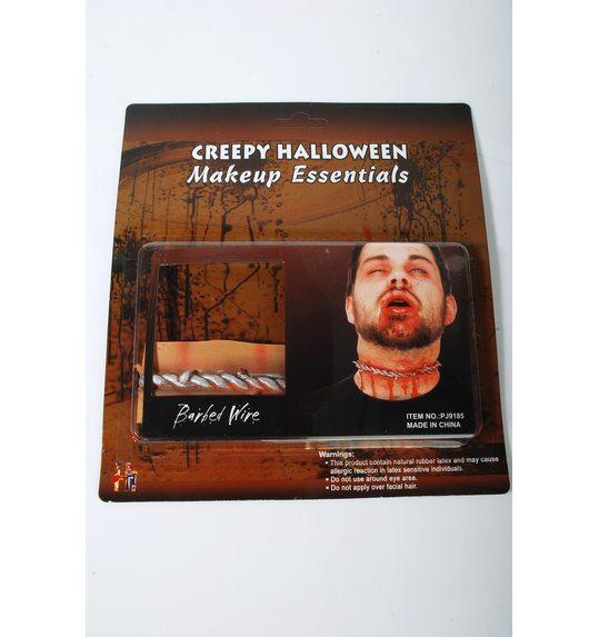 Cicatrice Halloween coupe gorge