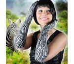 Handschoenen Zebra