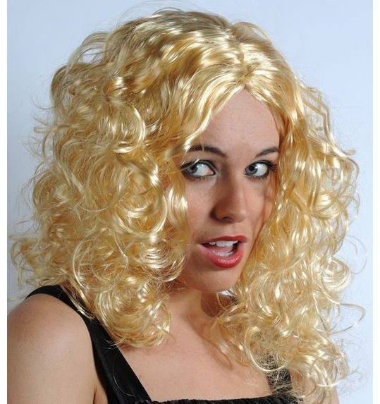 Perruque blonde Marylin