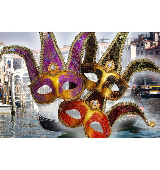 Venetiaans masker Deluxe Aramis