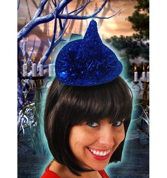Little witch hat with sequin