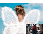 Marabou wings