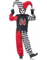 Jester clown halloween costume for children SM-43020
