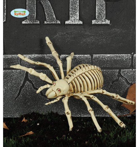 spider skeleton halloween decoration 24cm