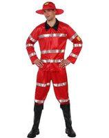 Brandweerman verkleed kostuum voor heren AT-70231/70229/70237