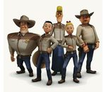 Cowboy hemd wiske en de texas rakkers