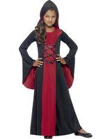 Meisje vampierin kostuum halloween SM-43031