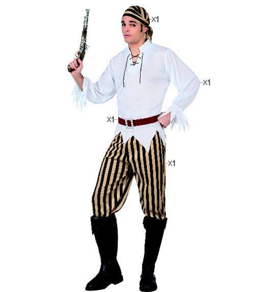 Piraat verkleedpak