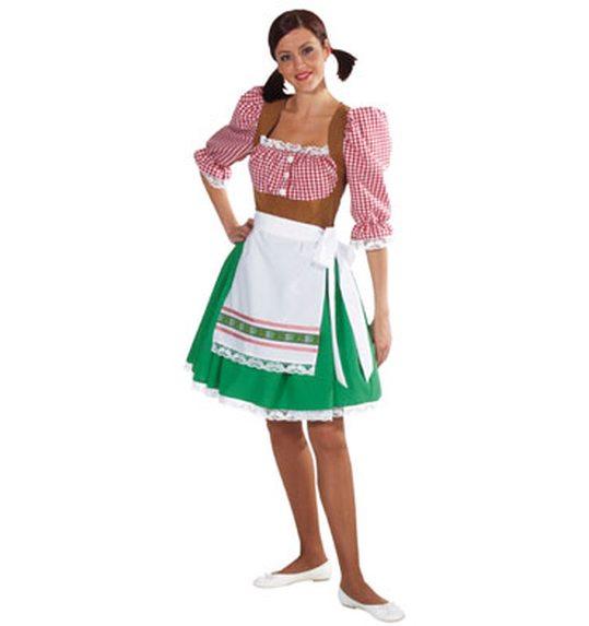 Tiroolse dirndl jurk