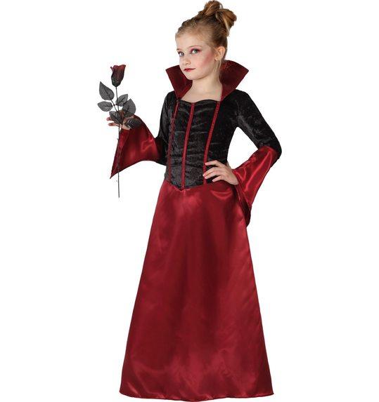 Vampier meisje halloween kostuum