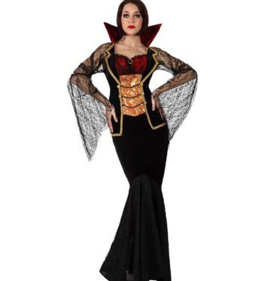 Vampierin Halloween dame
