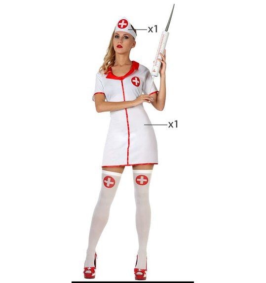 Verpleegster verkleedpakje voor dames